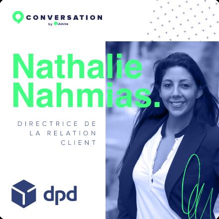 Nathalie Nahmias - Directrice de la relation client - DPD